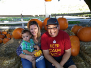 Our family at the pumpkin patch